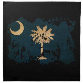 South Carolina Flag Napkin