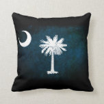 South Carolina Flag; Pillow