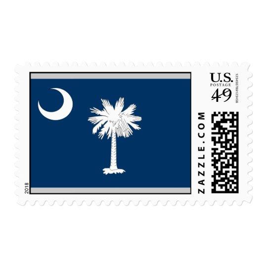 South Carolina Flag Postage