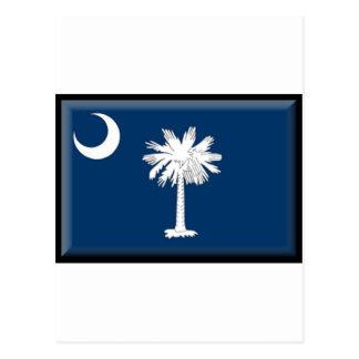 South Carolina Flag Postcard