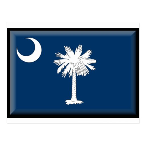 South Carolina Flag Postcard