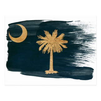 South Carolina Flag Postcards