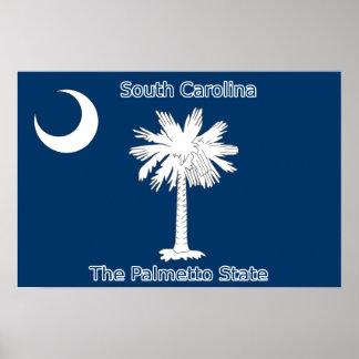 South Carolina Flag Print