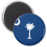 SOUTH CAROLINA FLAG REFRIGERATOR MAGNET