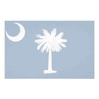 South Carolina Flag Stationery