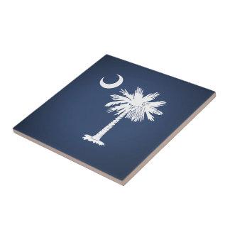 South Carolina Flag Tile