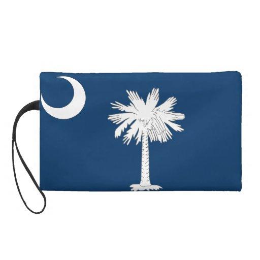 South Carolina Flag Wristlet Purse
