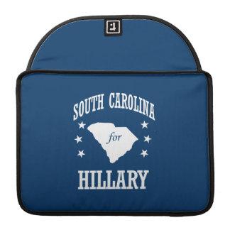 SOUTH CAROLINA FOR HILLARY MacBook PRO SLEEVES
