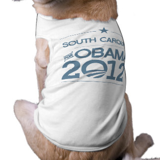 SOUTH CAROLINA FOR OBAMA 2012.png Doggie Tee Shirt