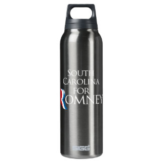 South Carolina for Romney -.png 16 Oz Insulated SIGG Thermos Water Bottle