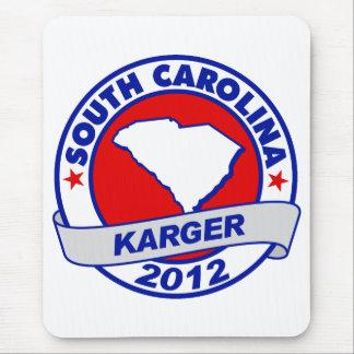 South Carolina Fred Karger Mouse Pad