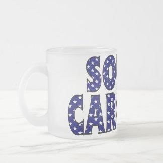 South Carolina Frosted Mug