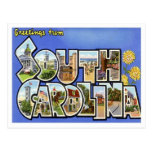 South Carolina Greetings From US States Postcard
