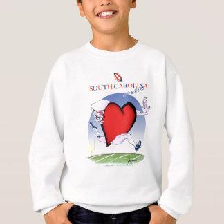 south carolina head heart, tony fernandes sweatshirt