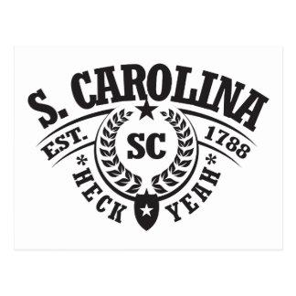 South Carolina, Heck Yeah, Est. 1788 Postcard