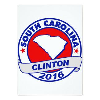 south carolina Hillary Clinton 2016.png Card