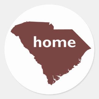 South Carolina Home Classic Round Sticker