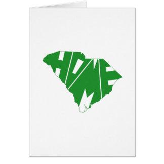 South Carolina Home State Card