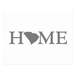 South Carolina Home State Postcard