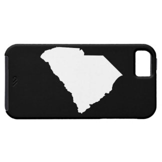 South Carolina in White and Black iPhone SE/5/5s Case