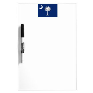 South Carolina Inspired Items Dry-Erase Board
