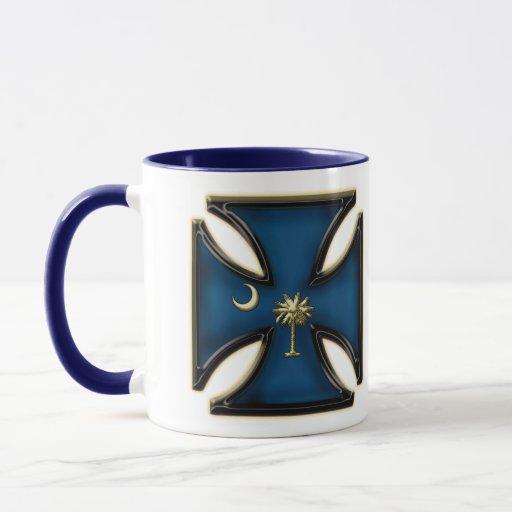 South Carolina Iron Cross Mug