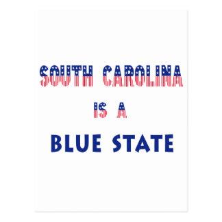 South Carolina is a Blue State Postcard