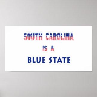 South Carolina is a Blue State Print