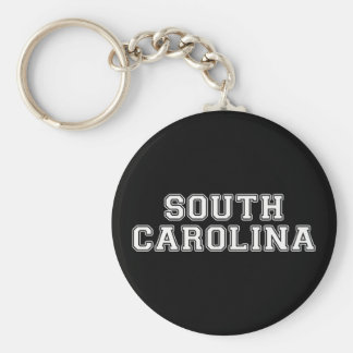 South Carolina Keychain
