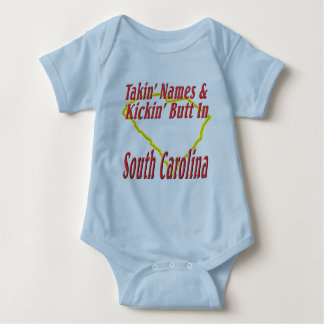 South Carolina - Kickin' Butt Baby Bodysuit