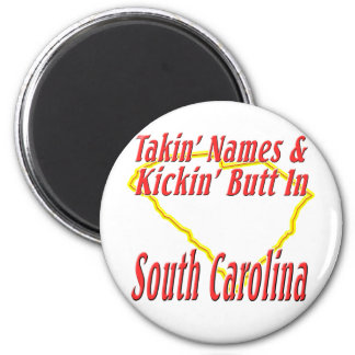 South Carolina - Kickin' Butt Magnet