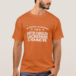 South Carolina Lacrosse Coach T-Shirt