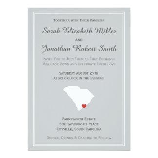 South Carolina Love - Customizable Wedding Invite