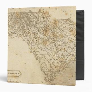South Carolina Map by Arrowsmith Binder