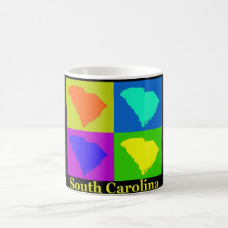 South Carolina Map Coffee Mug