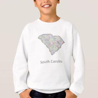 South Carolina map Sweatshirt