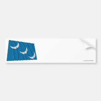 South Carolina Militia Flag Bumper Sticker