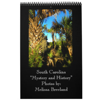 South Carolina Mystery and History Wall Calendars