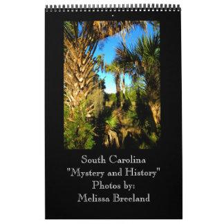 South Carolina ~ Mystery and History Wall Calendars