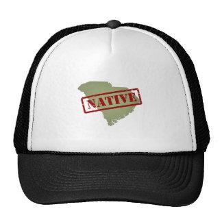 South Carolina Native with South Carolina Map Trucker Hat