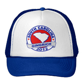 South Carolina Newt Gingrich Trucker Hat