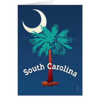 South Carolina Palmetto Card