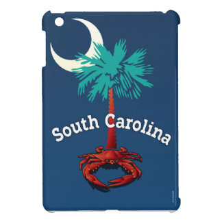 South Carolina Palmetto Crab Cover For The iPad Mini