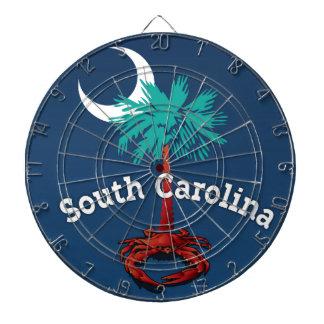 South Carolina Palmetto Crab Dart Board
