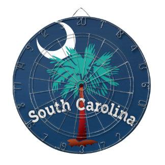 South Carolina Palmetto Crab Dartboard