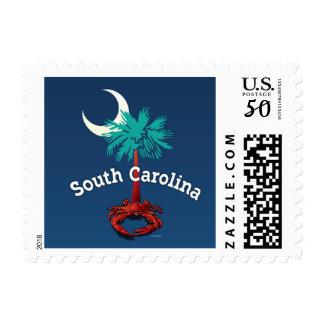 South Carolina Palmetto Crab Postage