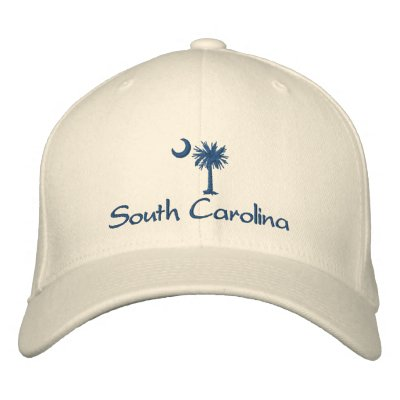 South Carolina Palmetto Embroidered Hat