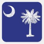 South Carolina Palmetto Flag Sticker