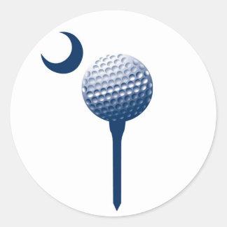 South Carolina Palmetto Golf Ball Sticker