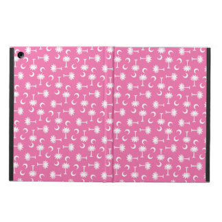 South Carolina Palmetto Moon Flag Pink iPad Air Case